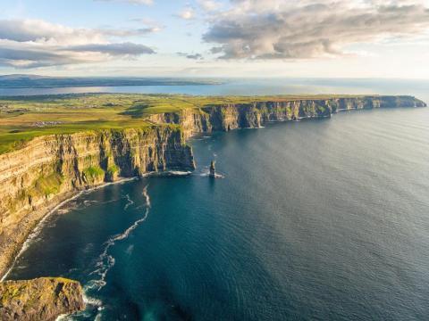 Los acantilados de Moher, Condado de Clare, Irlanda