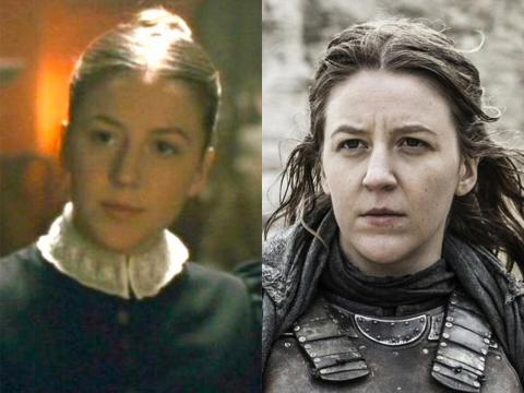 "Comedian Gemma Whelan made her film debut in 2010's ""The Wolfman"" as a maid. Now, she's Yara Greyjoy."