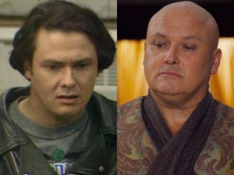 "Conleth Hill may be bald as Varys but the actor sported a head full of brown hair on the '90s British sitcom ""Blue Heaven."" He does still have a full head of hair — it's just white."