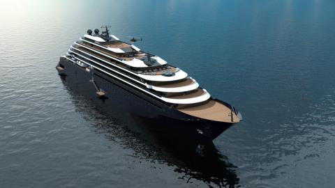 Diseño del primer crucero de la cadena hotelera Ritz Carlton