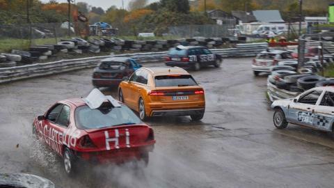 Desafíos Audi Q8. Batalla de supervivencia