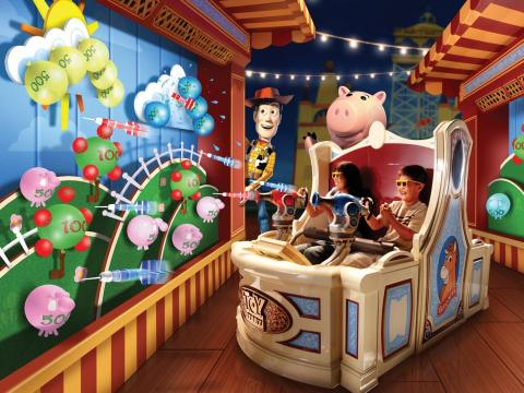 Toy Story Mania.