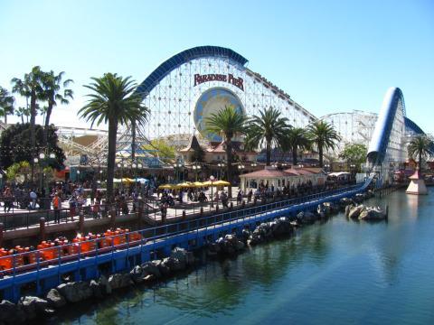 Paradise Pier.