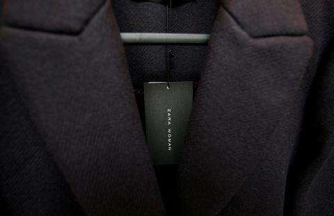 Etiqueta de Zara