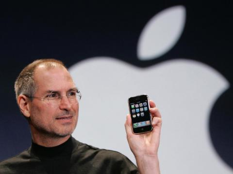 But even with all of those predictions about how the web could revolutionize industries, Jobs did say that technology doesn't change the world, which is arguably wrong!