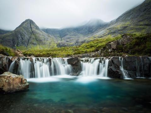 Piscinas de hadas, Isla de Skye, Escocia