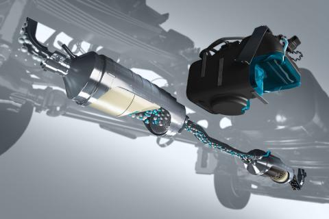 El sistema SCR consigue eliminar casi por completo los óxidos de nitrógeno en los camiones