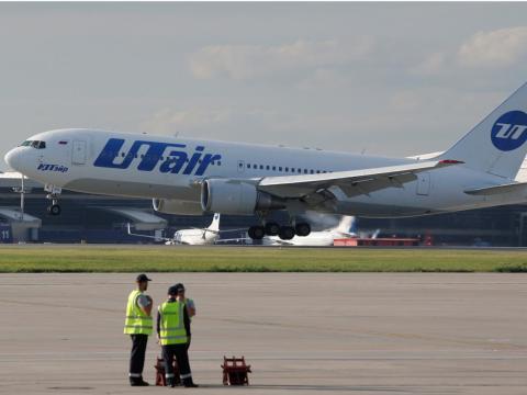 A Boeing 767-200 airplane.