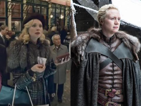 "Gwendoline Christie is the powerful Brienne of Tarth, but she only made her film debut three years earlier as a shopper in ""The Imaginarium of Doctor Parnassus."""