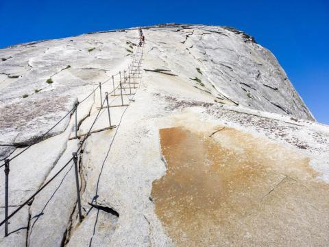 Half Dome — Yosemite National Park, California