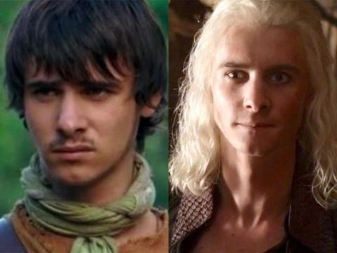 "Harry Lloyd may have played Viserys Targaryen, but he was known for his role on BBC's ""Robin Hood"" series before that."