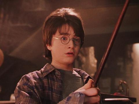 Una réplica de la varita de 'Harry Potter'