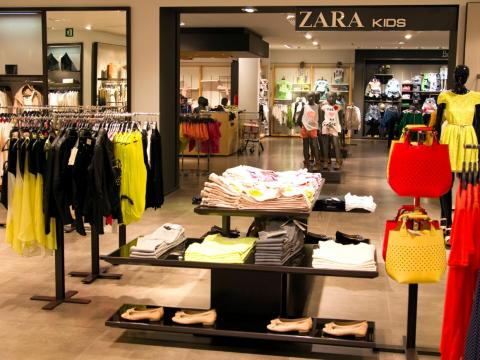 A Zara store in La Coruna, Spain, in 2012.
