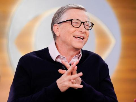 10. Bill Gates, cofundador de Microsoft