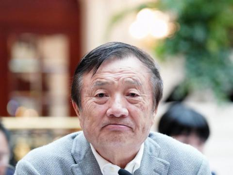 Huawei CEO Ren Zhengfei.