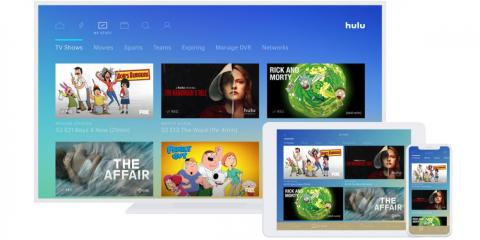 Hulu has original content and premium channels, and it also has a live TV option, which Prime Video, Netflix, and Apple TV Plus don't have.