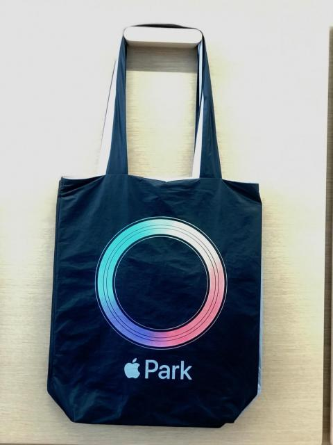 If you want, you can also purchase an Apple-themed bag to carry your purchases.