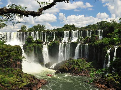 Cataratas del Iguazú, Argentina y Brasil.