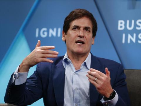 """Investor Mark Cuban owns three jets. The billionaire said in a 2017 interview that owning a private plane was his """"all-time goal,"""" because """"the asset I value the most is time, and that bought me time."""""""
