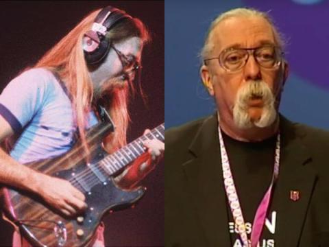 """Jeffrey Allen """"Skunk"""" Baxter —Guitarist for Steely Dan, The Doobie Brothers, and Spirit"""