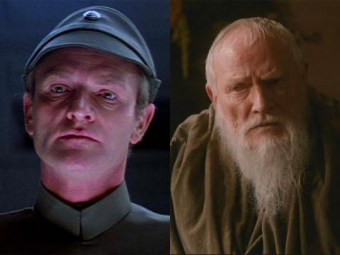 "Julian Glover portrayed the old Grand Maester Pycelle, but the actor (who has been acting since the '60s) was once in a ""Star Wars"" movie."