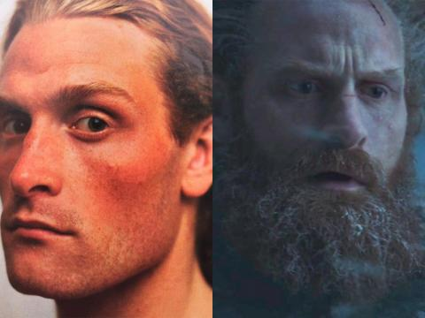 Kristofer Hivju rocks a beard as Tormund, but when he started his career in the early 2000s, he didn't have one.