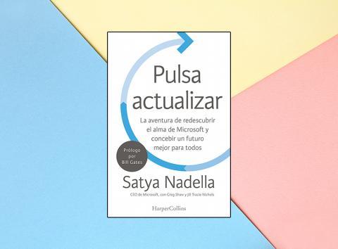 Libro de Satya Nadella