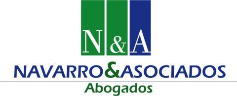 Logotipo del bufete Navarro&Asociados