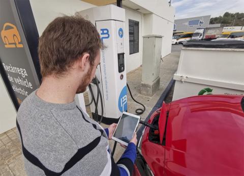 Madrid-Barcelona en coche eléctrico