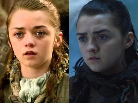 "Maisie Williams was 12 when she scored her first acting role, playing Arya Stark on ""Game of Thrones."""