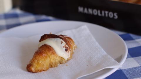 Manolito de chocolate blanco de Manolo Bakes