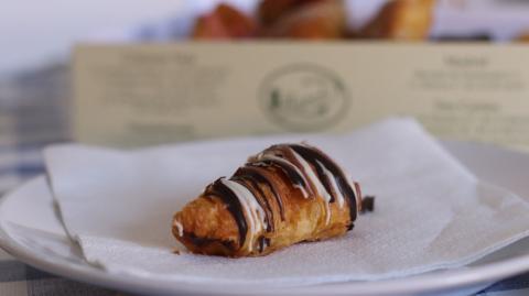 Manolitos de tres chocolates de Pastelería Manolo