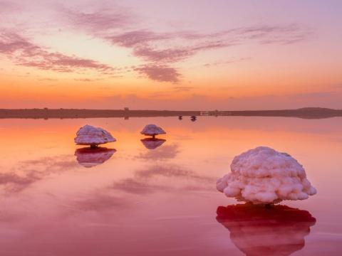 Lago Masazir, Azerbaiyán