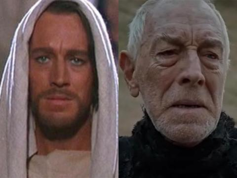 Max von Sydow, 89, has had a prolific career, dating all the way back to 1949. One of his most recent roles was as the Three-Eyed Raven.