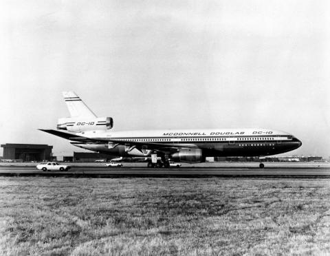 ... the McDonnell Douglas DC-10.