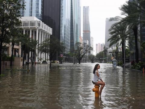 Miami real estate agents say their clients aren't basing home buying decisions on rising sea levels.