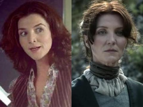 Michelle Fairley played the Stark family matriarch Catelyn Stark, but she began her professional acting career in 1989.