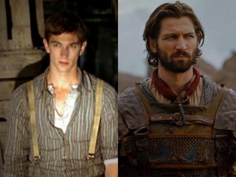 "Michiel Huisman, who plays Daario Naharis, starred alongside Carice van Houten in ""Suzy Q"" and later in ""Black Book."""