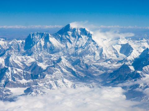Mount Everest — Tibet and Nepal