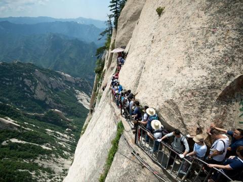Mount Huashan — Shaanxi, China