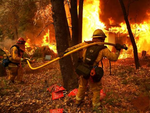 Municipal firefighting and prevention supervisors