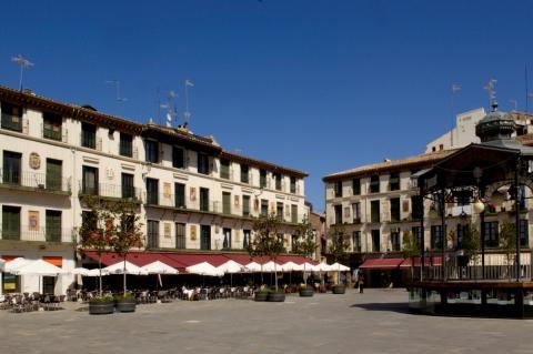 Tudela, en Navarra