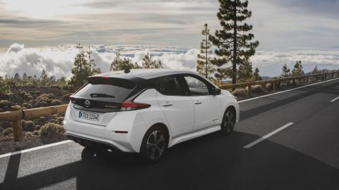 El Nissan Leaf es el coche eléctrico más vendido del mundo.