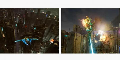 One multiplayer Stadia demo created by Tangent games showed off a destructible urban environment where players could fly freely and use a variety of explosive weapons.