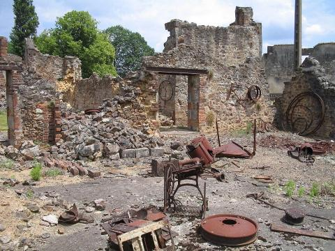 Oradour-sur-Glane, France, has a sinister past.