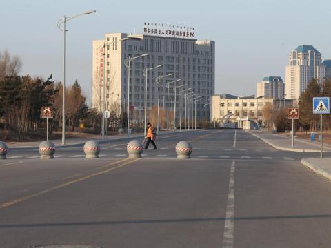 Ordos Kangbashi se suponía que era una ciudad moderna.