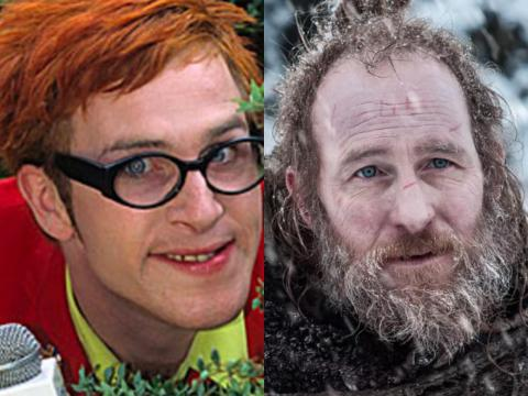 "Paul Kaye was known for his comedic character Dennis Pennis on ""The Sunday Show,"" but on ""Game of Thrones"" he played Thoros of Myr."