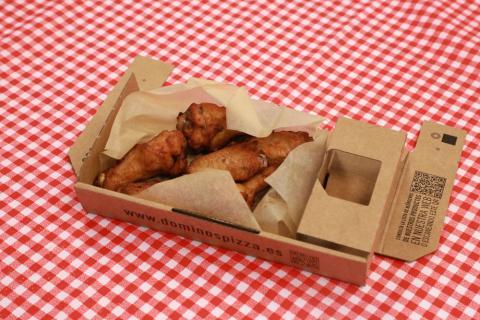 Alitas de pollo de Domino's