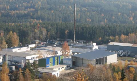 Planta de Wastech en la República Checa