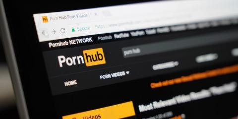 Pornhub, a popular pornography site, is one of the most visited websites in the US.